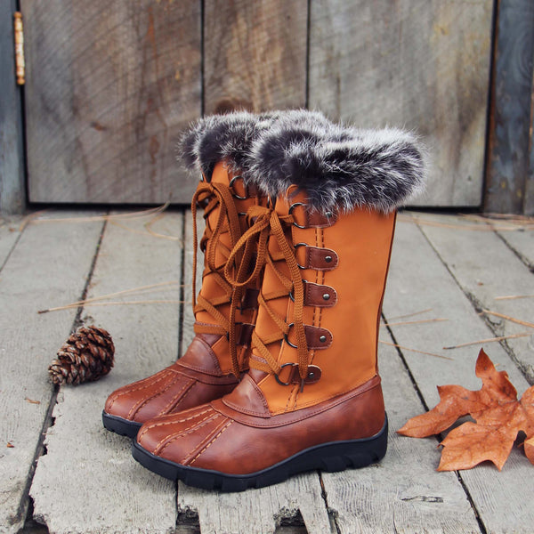 Ice & Spruce Snow Boots: Featured Product Image