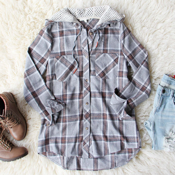 Snow Mound Plaid Top: Featured Product Image