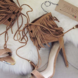 Sugar Fringe Heels: Alternate View #2