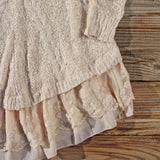 Snowcap Sweater Dress: Alternate View #3