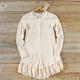 Snowcap Sweater Dress: Alternate View #1