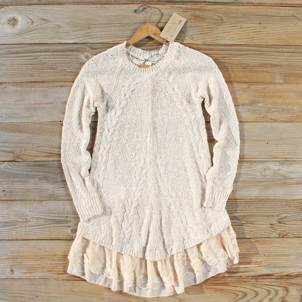 Snowcap Sweater Dress: Featured Product Image