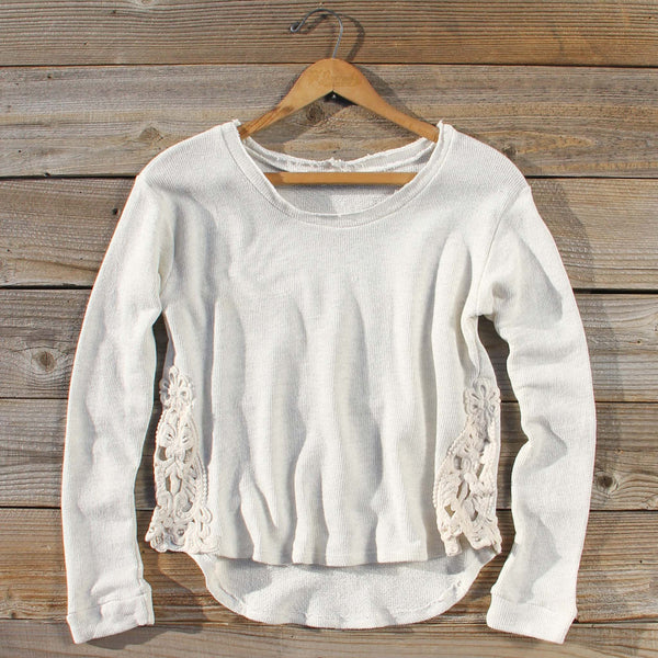 Snowed In Lace Thermal: Featured Product Image