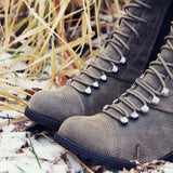 Snow Grass Lace-Up Boots: Alternate View #2