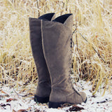 Snow Grass Lace-Up Boots: Alternate View #3