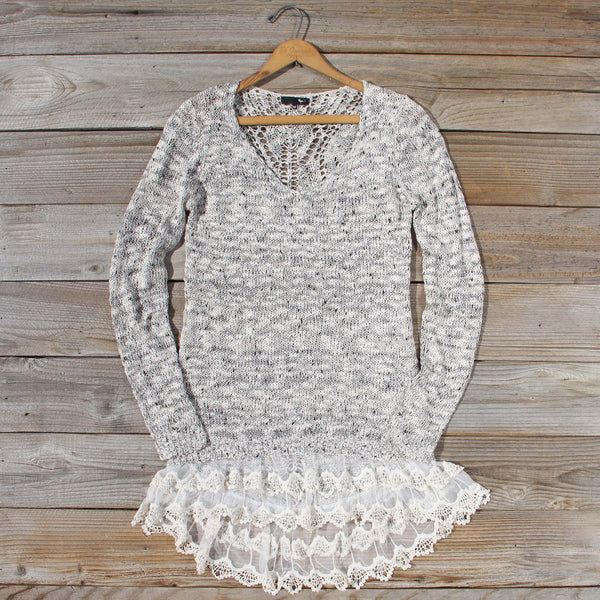 Snowy Bridge Sweater Dress: Featured Product Image