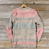 Snowy Canoe Knit Sweater: Alternate View #4