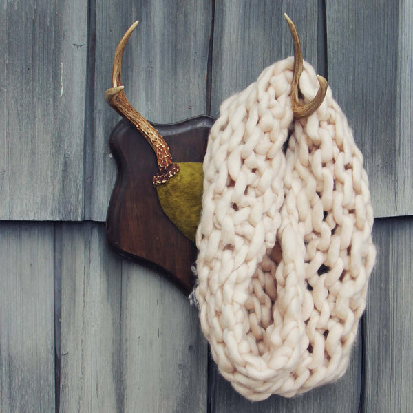The Snowy Knit Scarf: Featured Product Image