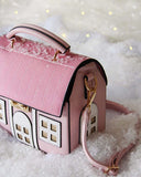 Snowy Cottage Purse: Alternate View #2