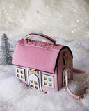 Snowy Cottage Purse: Alternate View #1