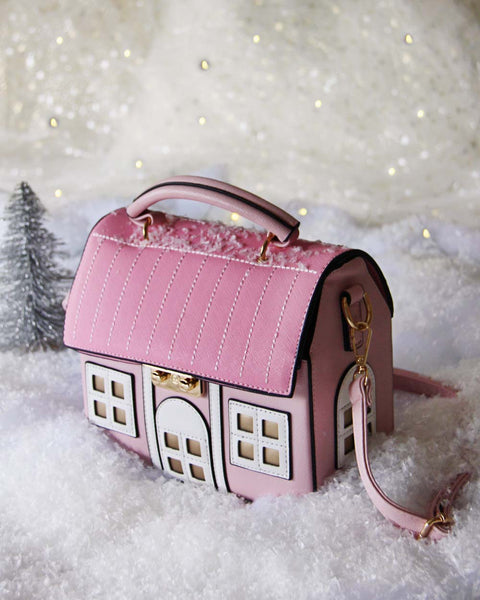 Snowy Cottage Purse: Featured Product Image
