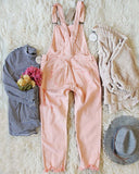 Soft + Destructed Overalls: Alternate View #4