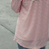 The Soft Stripe Tee: Alternate View #4