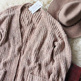 Softest Chenille Sweater in Taupe: Alternate View #5