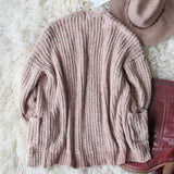 Softest Chenille Sweater in Taupe: Alternate View #7