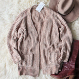 Softest Chenille Sweater in Taupe: Alternate View #4