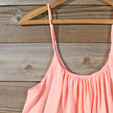 Solarium Lace Tunic in Peach: Alternate View #2