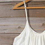 Solarium Lace Tunic in Ivory: Alternate View #2