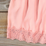 Solarium Lace Tunic in Peach: Alternate View #3