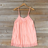 Solarium Lace Tunic in Peach: Alternate View #4