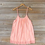Solarium Lace Tunic in Peach: Alternate View #1