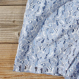 Something Blue Lace Romper: Alternate View #3