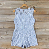 Something Blue Lace Romper: Alternate View #4
