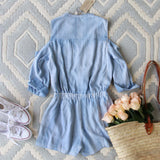 Sunny Chambray Romper: Alternate View #4