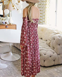 Sophie Maxi Dress in Pink: Alternate View #3