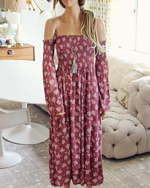 Sophie Maxi Dress in Pink: Featured Product Image