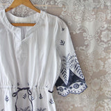 Sophie Embroidered Tunic: Alternate View #2