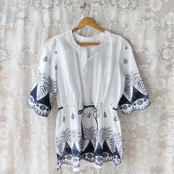 Sophie Embroidered Tunic: Featured Product Image