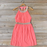 Ice Shadow Dress in Coral: Alternate View #4