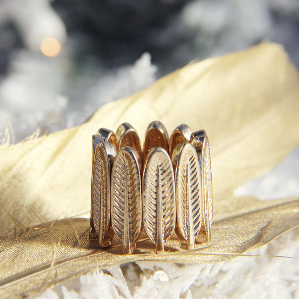 Spirit Feather Ring: Featured Product Image