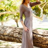 Spirit Meadow Maxi Dress: Alternate View #2