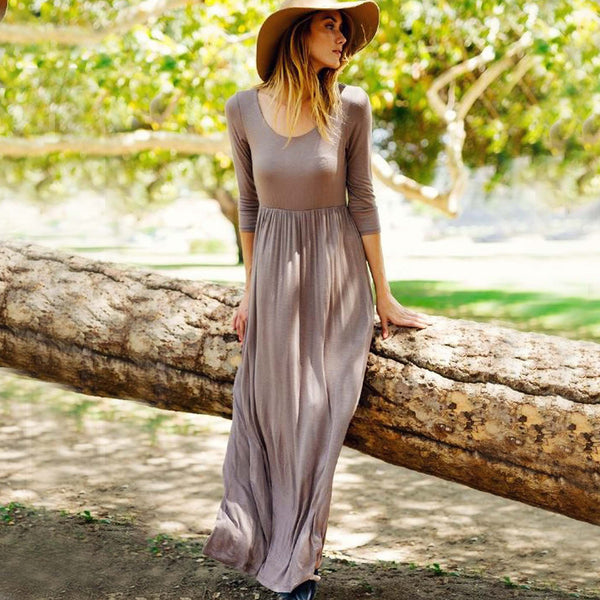 Spirit Meadow Maxi Dress: Featured Product Image