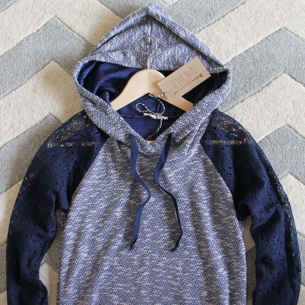Spool Active Lacey Hoodie: Featured Product Image