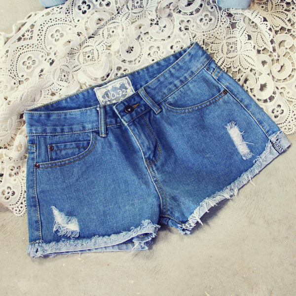 Spool Distressed Shorts: Featured Product Image