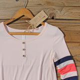 Sporty Stripe Tee: Alternate View #2