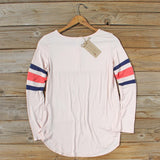 Sporty Stripe Tee: Alternate View #4