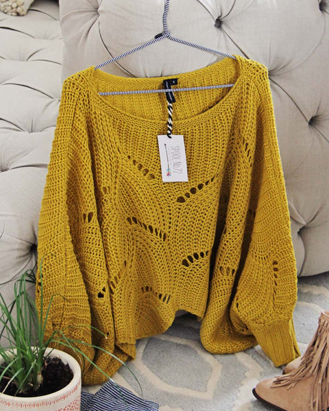Spring Cactus Sweet Sweater: Featured Product Image