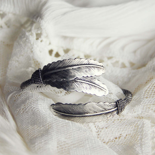 Spruce & Feather Bracelet: Featured Product Image
