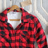 Ski Lodge Plaid Flannel: Alternate View #2