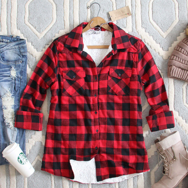 Ski Lodge Plaid Flannel: Featured Product Image