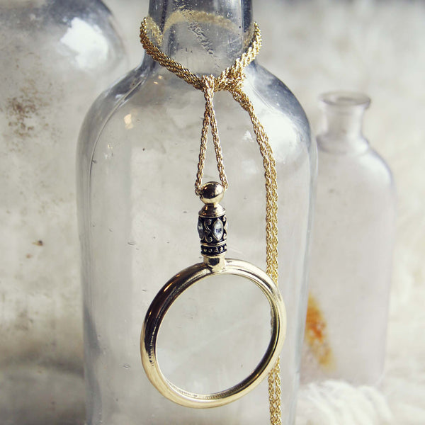 70's Spyglass Necklace: Featured Product Image