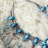 The Squash Blossom & Fir Necklace: Alternate View #3