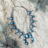 The Squash Blossom & Fir Necklace: Alternate View #1