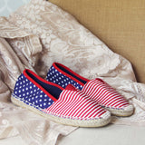 Star Spangled Espadrilles: Alternate View #3