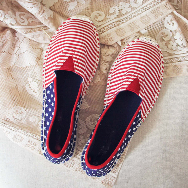 Star Spangled Espadrilles: Featured Product Image