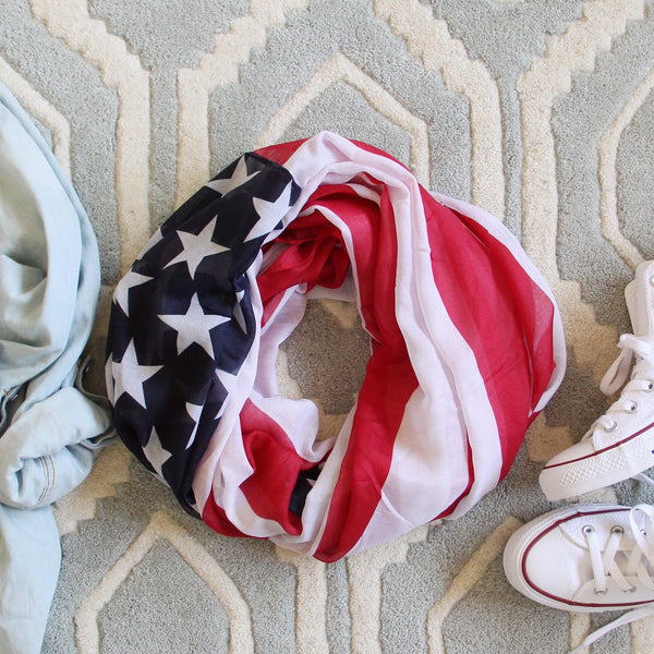 Star Spangled Scarf: Featured Product Image